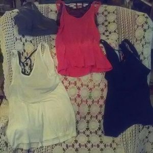 C. Activewear Tank Tops (3) /Bra (1) Joy Lab